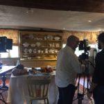 イタリア テレビ撮影コーディネート
