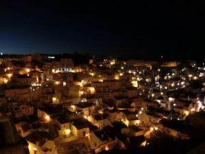 洞窟住居サッシの町、マテーラ